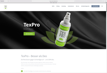 Webseite TexPro